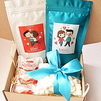 Подарочный набор LoveBox Blue&White, фото 1