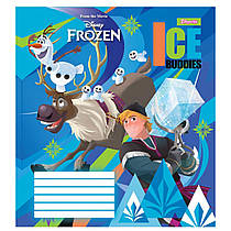 """Набор тетрадей ученических 10 штук 1 Вересня """"Frozen"""" A5 в клетку 12 листов 763338"""