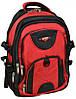 Стильный городской рюкзак из нейлона Power In Eavas 34 л. 9714 red, красный