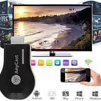 Ретранслятор экрана,  Медиаплеер Wi-Fi ресивер для ТВ anycast m9 plus