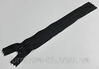 Длинна 18 см.Обувная Молния Обычная  Тип 7.Цвет Черный