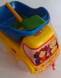 Машина пластиковая Самосвал №2 Бамсик, 3682
