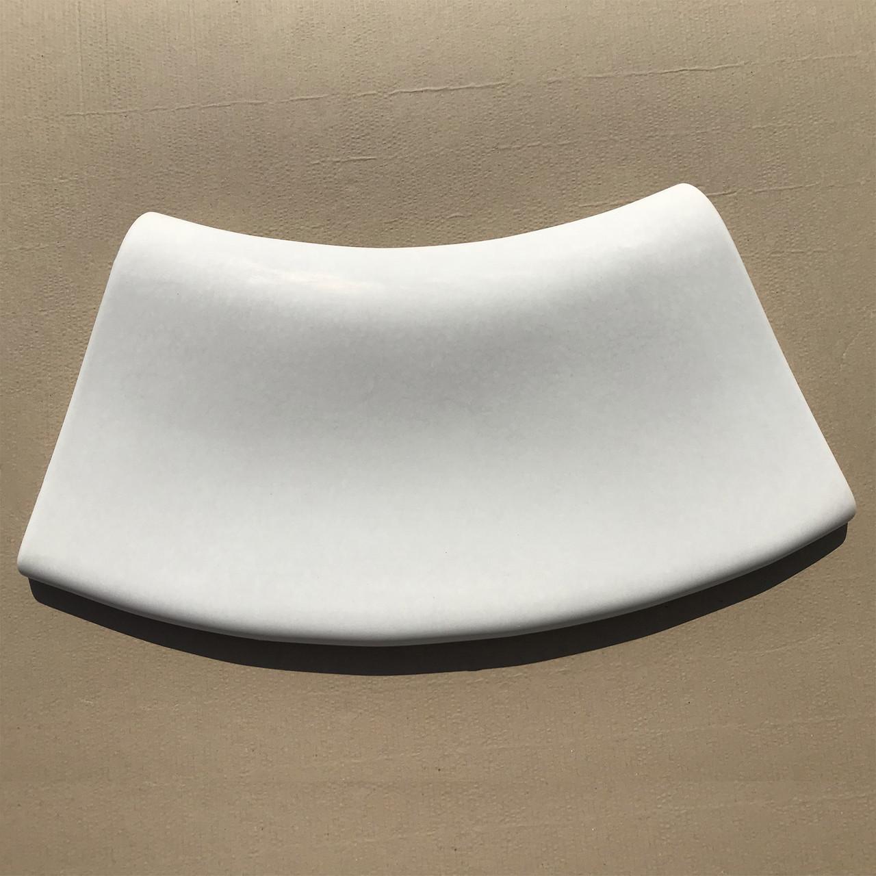 Радиусный копинговый камень 25см R-0,5м бортовой для бассейна