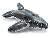 Надувная игрушка для плавания Кит INTEX виниловый, 57530