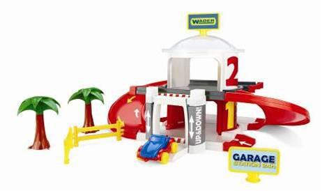 Игрушка гараж с лифтом, 2 уровня, 50300