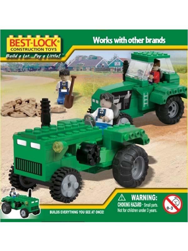 """Конструктор """"BEST-LOCK"""" 240 дет. """"Трактор"""", 24067"""
