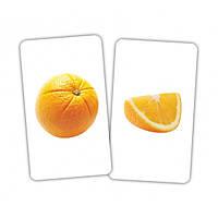 """Карточки обучающие """"Фрукт и долька"""" 15 пар, Вундеркинд с пеленок, 372513"""