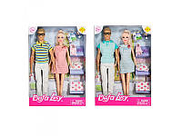 Семья DEFA кукла 29см (беременная) и 30см, пупс, аксессуары, 2 вида, 8349