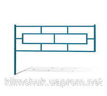 Секція огородження довжина 1.5 м для дитячих ігрових майданчиків KidSport