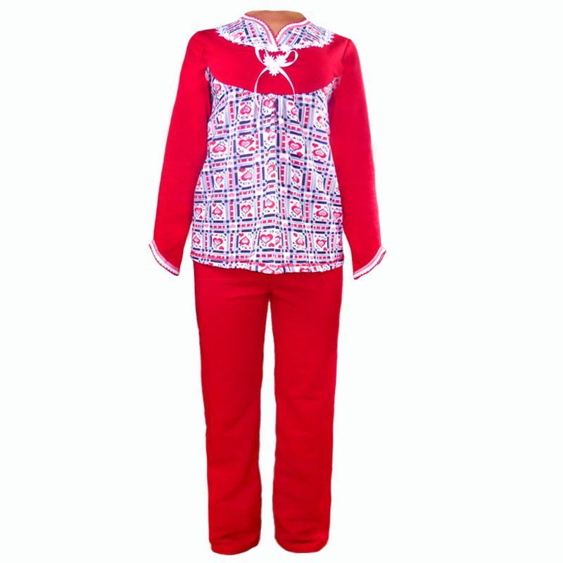 Теплая домашняя пижама