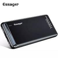 Внешний аккумулятор Essager ES-D009 Power Bank 10000 mAh Dual USB Black (EDY2UMT-XJ01)