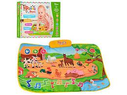 """Коврик развивающий """"Веселая ферма"""" (укр.), Limo toy, M3455"""