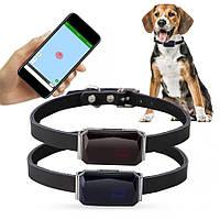Умный ошейник мини gps трекер водонепроницаемый SIM для животных Seuno gps365 ошейник для собак и кошек маячек