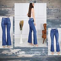 """Джинсы-клёш женские молодежные NEW, размеры 26-33 """"JeansStyle"""" купить недорого от прямого поставщика"""