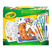 """Набор для творчества """"Картинки из наклеек"""" 4+, Crayola, 04-6801"""