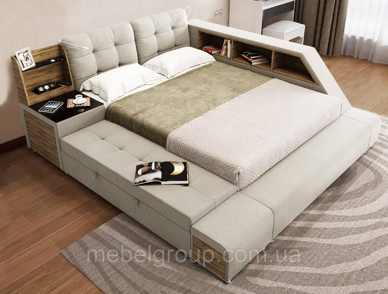 Ліжко Атланта 180*200, з механізмом