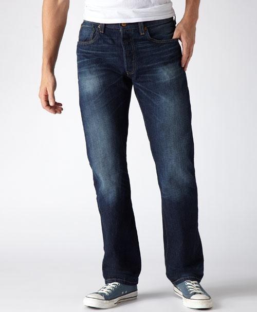 Джинсы мжские Levis  501 Original Fit Jeans -bay blue