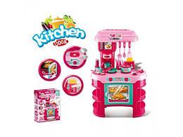 Игровой набор Кухня детская + аксессуары (звук, свет), 008-908