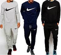 Спортивный костюм мужской черный/серый/темно-синий Nike Найк