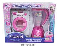 """Бытовая техника """"Frozen"""", (блендер, стиральная машина), свет-звук, DN857FZ-14"""