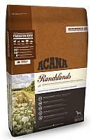 Сухой корм Acana Ranchlands Dog низкоуглеводный для собак всех пород международного класса 2 кг