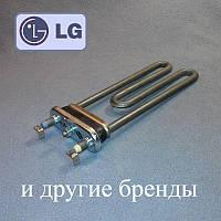 Тен 1850W / L=185 мм для пральної машини LG, Електролюкс і т. д. (є отвір / бурт)