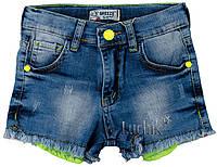 """Шорты джинсовые для девочки. Размер: 134. джинс. TM """"BREEZE"""" 20140. Турция."""