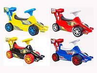 Детская машинка-каталка (толокар) Орион Супер Спорт Ч (Супер КАР) 894_Ч