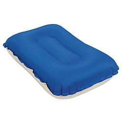 Надувная велюр-подушка, 42-26-10см, 3 цвета, ремкомплект, в коробке, Bestway, 69034