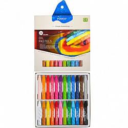 Пастель масляная 24 цвета,Marco, 4800OP-24CB