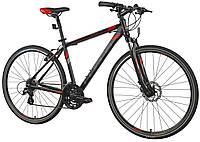 Велосипед кросс INDIANA 2.0 M19 black-red