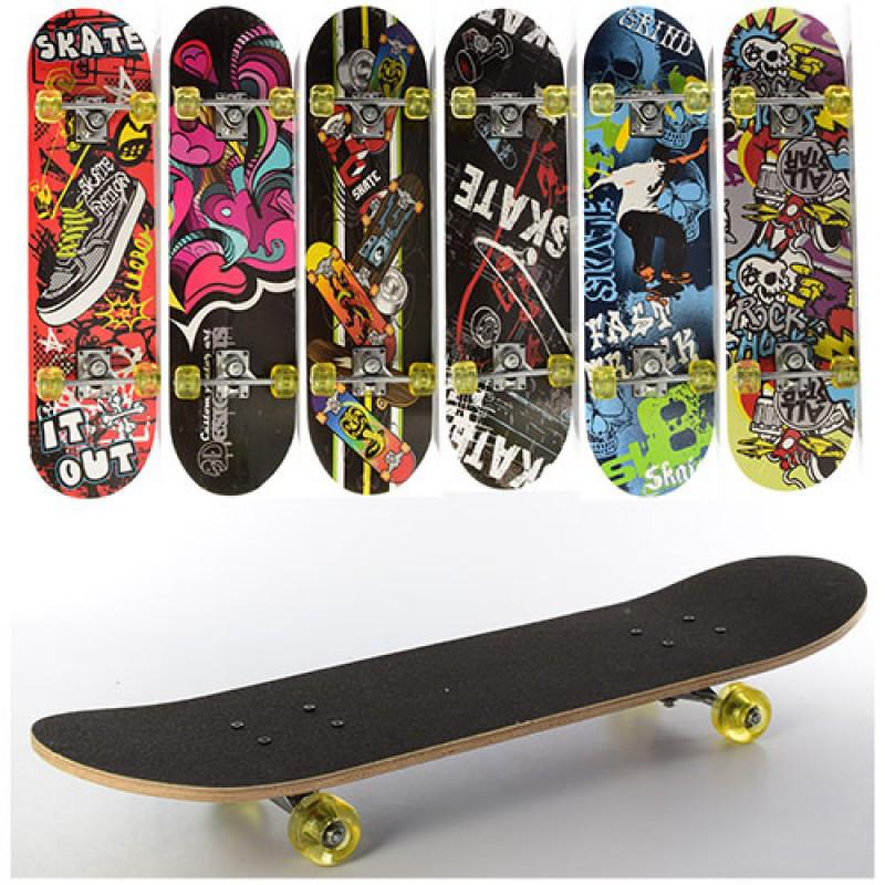 Скейт детский 6 видов, MS0321-1