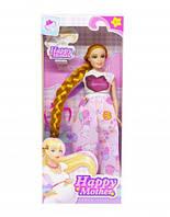 """Беременная кукла """"Счастливая мама"""" (платье с мишками) 2030-80"""