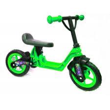 "Велобег 10"", EVA колеса (Cross bike) зеленый, 11-014ЗЕЛ"
