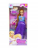 """Беременная кукла """"Счастливая мама"""" (платье в горошек) 2030-80"""