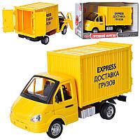 """Газель инерционная, звук, свет, """"Перевозка грузов"""", Joy Toy, 9077-E"""