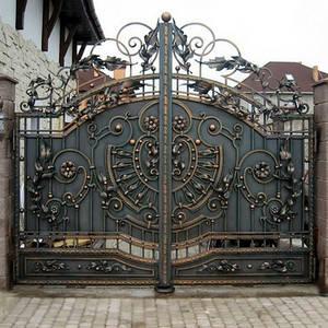 Кованые ворота, заборы и ограждения