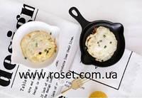 Тарелка в виде сковороды керамическая LoveAffair, 16см