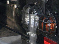 Защита задней оптики Landrover Defender