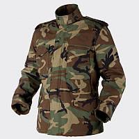 Куртка Helikon M65 - NyCo Sateen Woodland