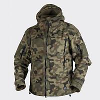 Куртка Helikon Patriot - Double Fleece PL Woodland