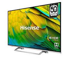 Телевизоры со смарт тв HISENSE H43B7500 4K UHD LED WIFI T2 S2 Smart TV диагональ 43 дюйма, фото 2