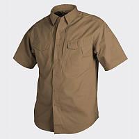 Рубашка Helikon Defender с к/рукавом - Canvas Coyote