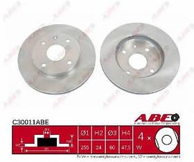 Тормозной диск передний Chevrolet Lacetti 2005-2013 (2.0D)