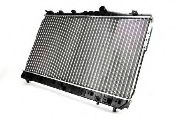Радиатор охлаждения двигателя Chevrolet Lacetti 2005-2013 (1.416V, 1.6, 1.8)