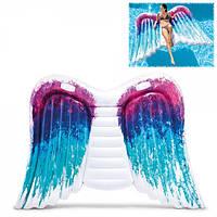 """Пляжный надувной матрас - плот """"Крылья Ангела"""" 251х160см., Intex, 58786"""
