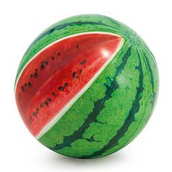 Мяч пляжный Арбуз, 107см, ремкомплект, от 3лет, 58075