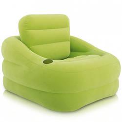 Кресло надувное 97*107*71см, подстаканник, INTEX, 68586