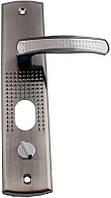 Ручка для металлических дверей FZB - (14-23) с подсветкой SN (сатин), правая дверь