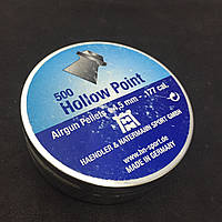 Пули пневматические H&N Hollow Point 0,46 г 500шт